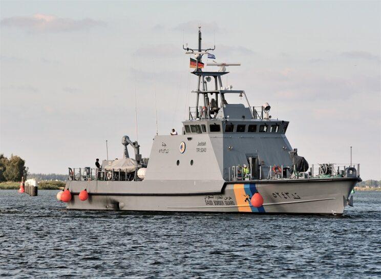 Jeddah, prototyp serii OPB40 w barwach Straży Granicznej Arabii Saudyjskiej. Fot. Tomasz Grotnik