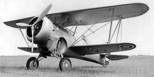 Podstawowy tajlandzki samolot myśliwski w 1941 r. – zakupiony w Stanach Zjednoczonych myśliwiec Curtiss Hawk III.