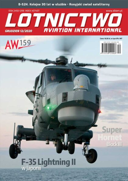 Lotnictwo Aviation International 12/2020