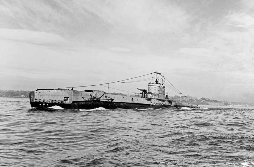 Seawolf, okręt typu S, do połowy 1942 r. wykonał 29 patroli bojowych na wodach Europy północno-zachodniej, od Zatoki Biskajskiej poMorze Barentsa. Później trafił do Stanów Zjednoczonych na remont, a stamtąd do Kanady, gdzie ćwiczono na nim zwalczanie U-Bootów.