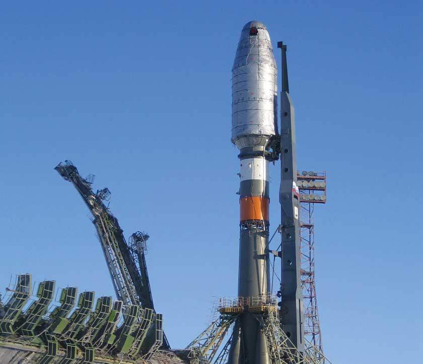 Rakieta Sojuz 2.1b najcięższa odmiana Sojuza do wynoszenia satelitów w kosmos.