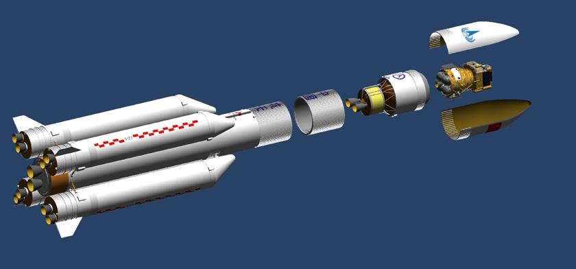 Rakieta CZ-5 z sondą Chang'e-5.