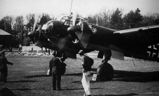 Rozpoznawczy Junkers Ju 88 z 1.(F)/123.