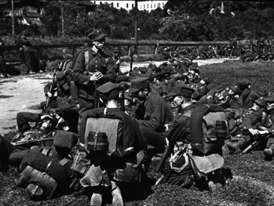 Piechota stanowiła najliczniejszy rodzaj broni WP, stanowiąc w czasie pokoju około 60% całości sił zbrojnych Rzeczpospolitej.