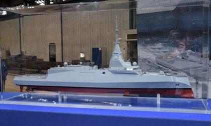 Model fregaty FDI. Fot. Tomasz Grotnik