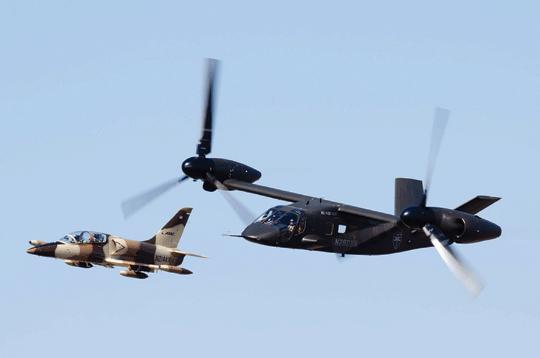 Wysoka prędkość przelotowa FLRAA ma umożliwić tworzenie wspólnych ugrupowań nawet z odrzutowymi samolotami bojowymi.