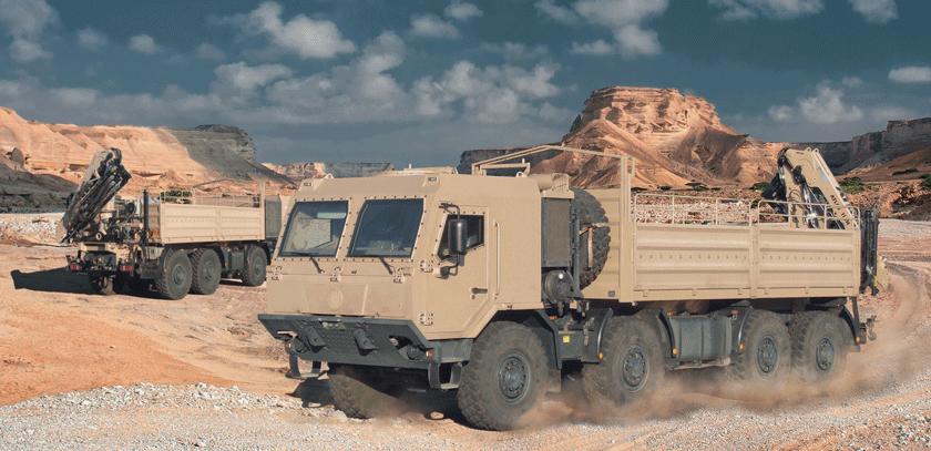 Tatra konsekwentnie poszerza swoją ofertę w sektorze militarnym. Jednym z najnowszych posunięć jest proponowanie własnych kabin integralnie opancerzonych, podczas gdy wcześniej współpracowano z rodzimą firmą SVOS bądź izraelskim Plasanem.