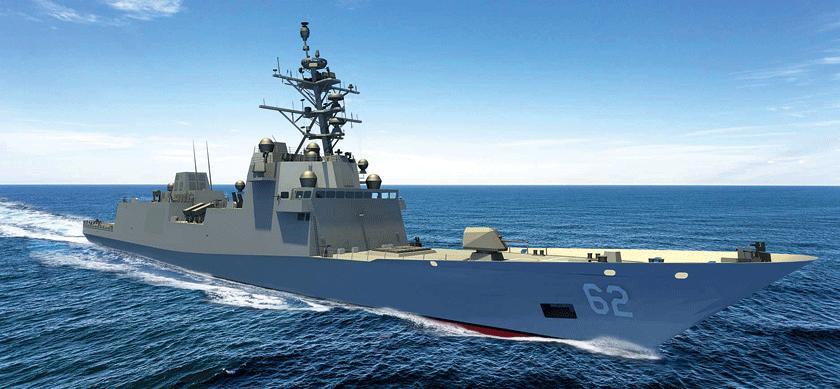 Jedna znajnowszych wizualizacji fregaty wielozadaniowej USS Constellation.