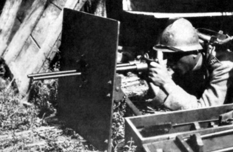 pistolet maszynowy Villar Perosa