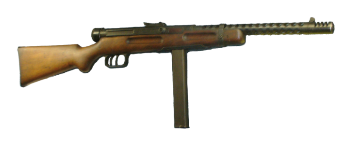 Ewolucja pierwszego pistoletu maszynowego świata