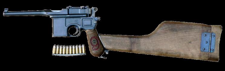 Luger artyleryjski, czyli Pistole 08
