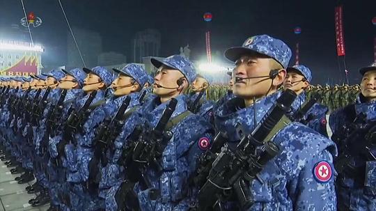 """Ciężki karabin, """"połowa"""" północnokoreańskiego systemu broni strzeleckiej."""