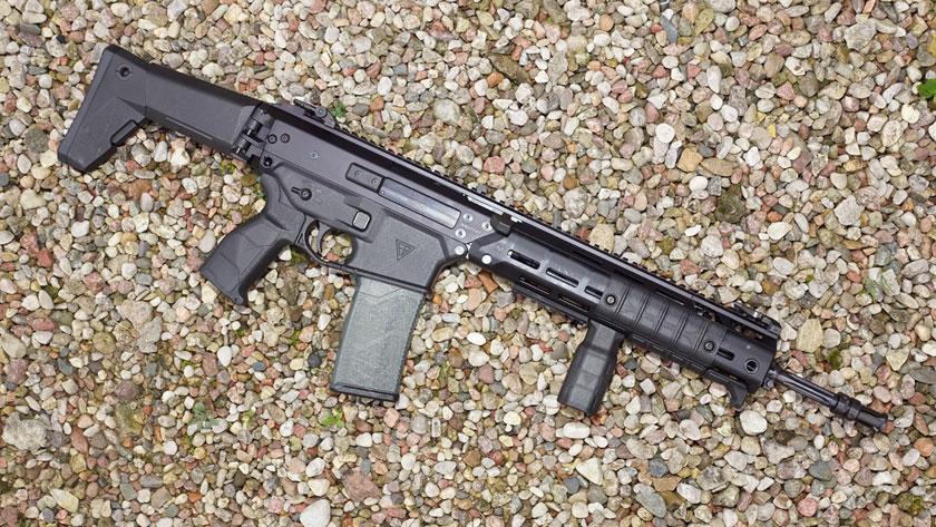 5,56 mm karabinek standardowy (podstawowy) w układzie klasycznym MSBS GROT w wersji A2.