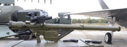 Przenośny przeciwlotniczy zestaw rakietowy Piorun pochodzący z partii dostarczonej MON w 2018 r.