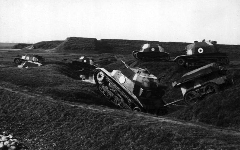 Broń pancerna Wojska Polskiego: 1933-1937