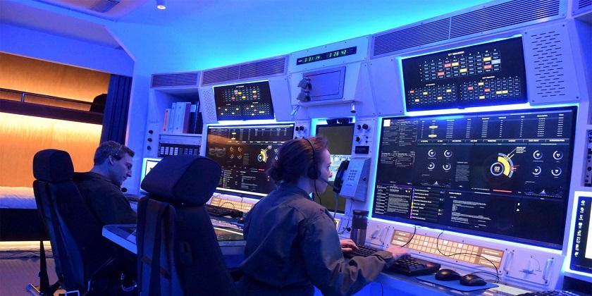 Wizja artystyczna stanowiska ogniowego systemu GBSD. Rys. Northrop Grumman