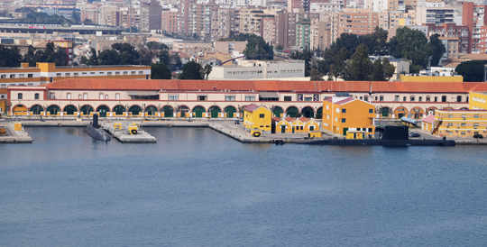 Dwa okręty podwodne typu S-70 Galerna wbazie Armada Española wKartagenie. Zbudowane na licencji, woparciu oprojekt francuskiego typu Agosta, są obecnie jedynymi operacyjnymi jednostkami tej klasy wskładzie hiszpańskiej floty.