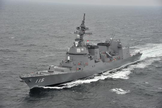 Niszczyciel Asagiri to jedna zośmiu jednostek przeznaczonych do zastąpienia przez fregaty typu Mogami. Zluzują one także sześć niszczycieli eskortowych typu Abukuma idwa typu Hatakze.
