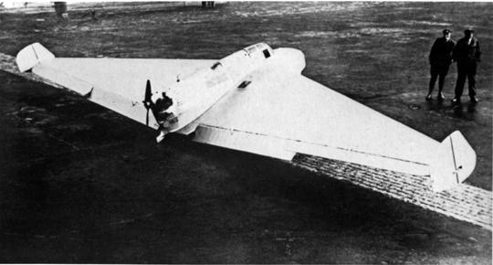 Udany debiut samolotu Delta 1 miał miejsce latem 1931 r.