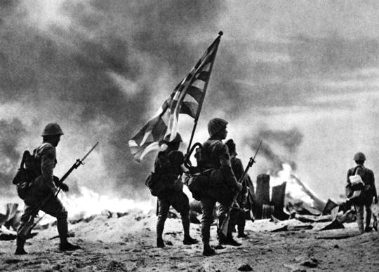 """Japońska Piechota Morska wystawiła w czasie wojny na Pacyfiku 23 bataliony podporządkowane czterem pułkom (""""Sasebo"""", """"Maizuru"""", """"Kure"""" i """"Yokosuka""""). Bataliony w ich składzie identyfikował numer, a pułk – nazwa. Niektóre z nich użyto w czasie walk na Nowej Gwinei."""
