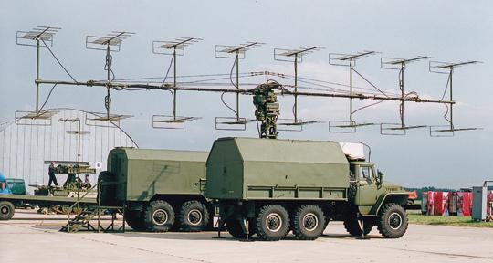 Stacja radiolokacyjna P-18-2 Prima.