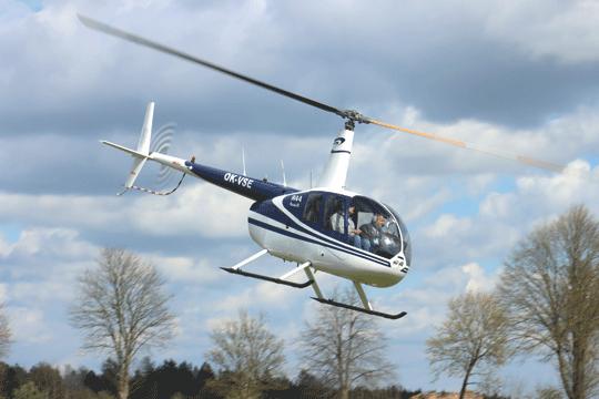 Najbardziej popularnym typem śmigłowca na Zlocie był Robinson R-44, szczególnie rozpowszechniony wśród prywatnych właścicieli.