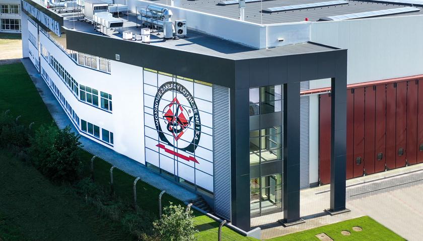 Jeden z najnowocześniejszych hangarów lotniczych w Europie został w 2019 r. oddany do użytku w WZL1.