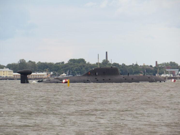K-157 Wieprʹ projektu 971 Szczuka-B to pierwszy okręt tego typu na Bałtyku. Fot. Wowanycz/balancer.ru