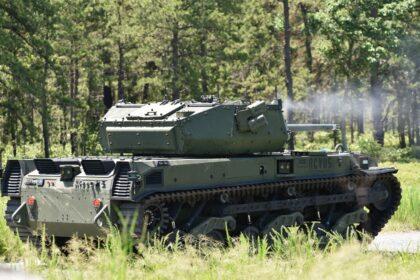 US Army przeprowadziła próby uzbrojenia bezzałogowych wozów bojowych RCV-M. Fot. US Army.