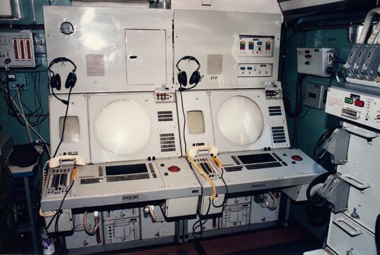 Stanowiska operatorów Gammy-S1.