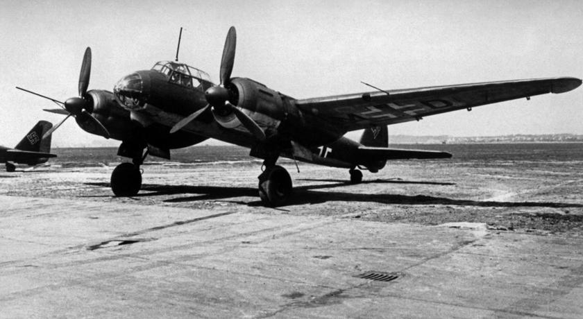 Bombowce Ju 88 S-1 od jesieni 1943 r. stanowiły wyposażenie III./KG 6.