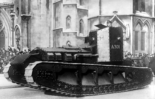 Po przełamaniu obrony planowano w wyłom wprowadzić czołgi Medium Mark A Whippet, które miały pędzić ku ważnym rubieżom i obiektom terenowym, blokując w ten sposób podejście odwodów przecinika i ich obsadzenie. To był pradziadek czołgu szybkiego.